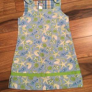 🏖Hartstrings size 6 girls preppy beach dress.